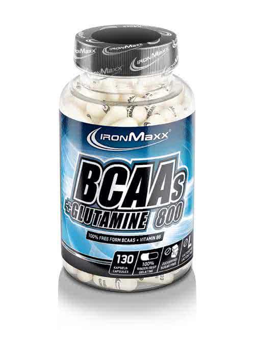 IronMaxx BCAA + Glutamin 800 130 kaps