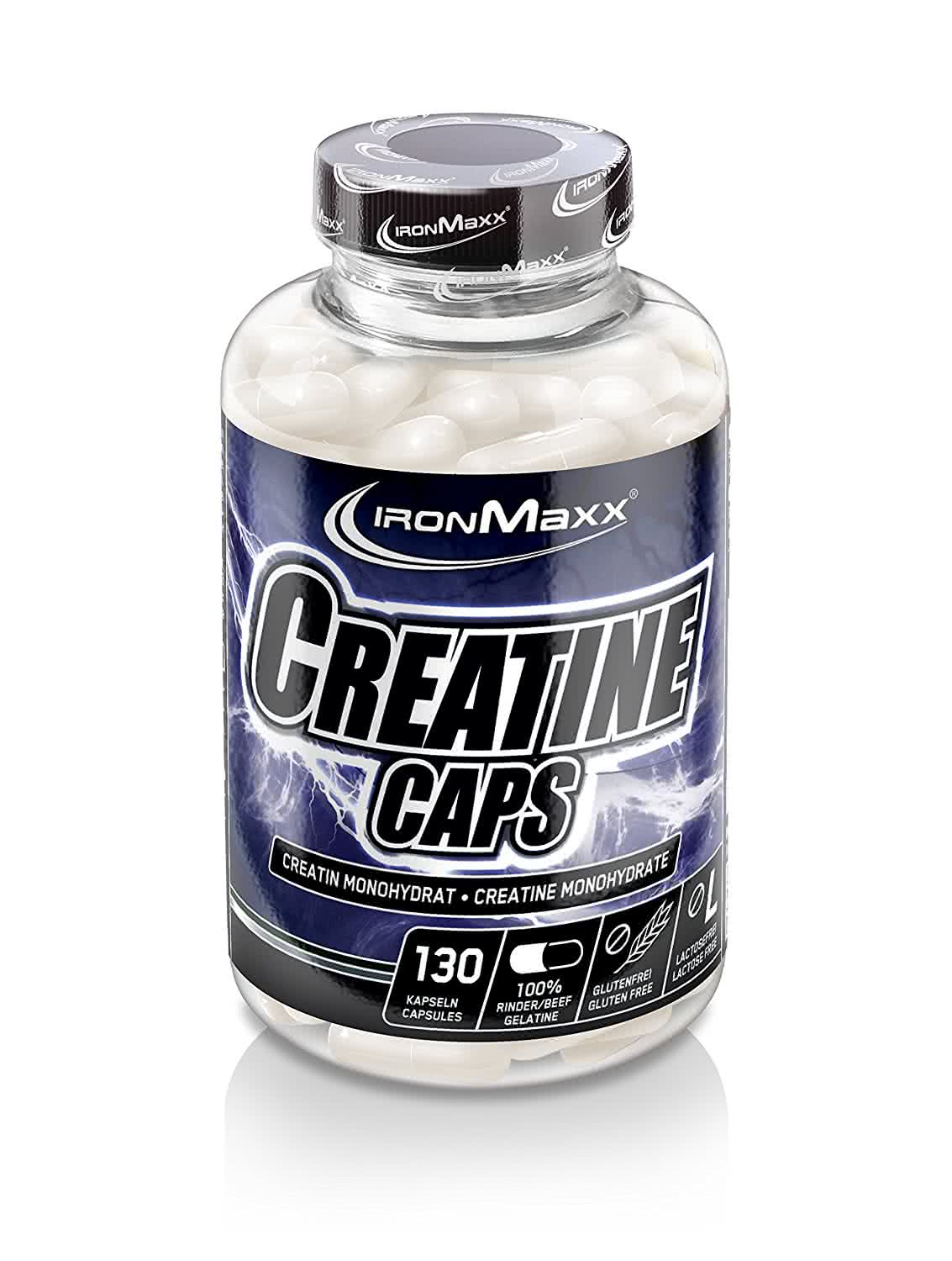 IronMaxx Creatine Caps 130 kaps
