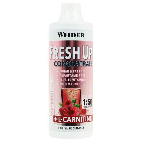 Weider Nutrition Fresh Up Extra Vitamin & Mineral Concentrate +L-Carnitine 1 l.