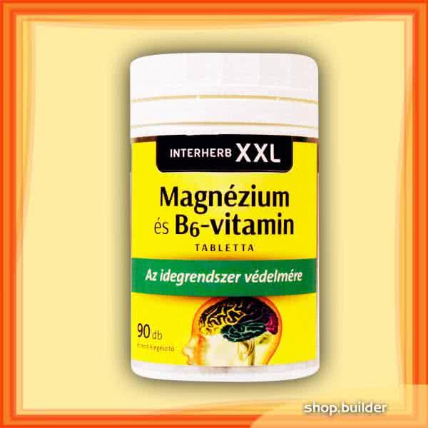 Interherb XXL Magnesium + Vitamin B6 90 kaps