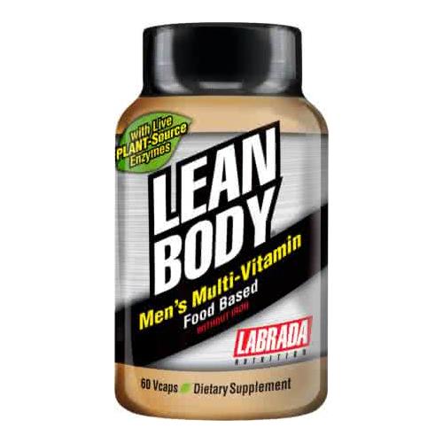 Labrada Nutrition Lean Body Mens Multi-Vitamin 60 kaps