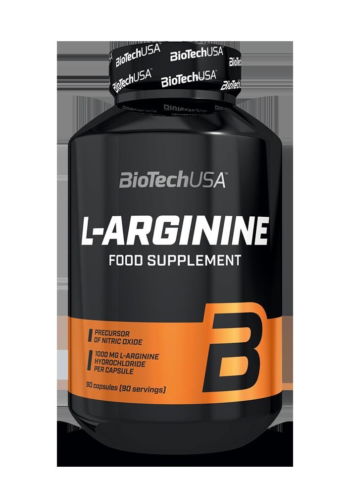 BioTech USA L-Arginine 90 kaps
