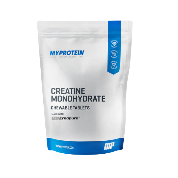 Myprotein Creatine Monohydrate (Creapure®) Chewable Tablets 90 ž.t.