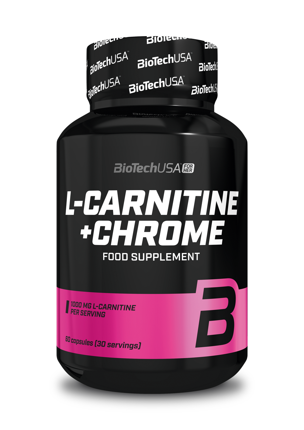 BioTech USA L-Carnitine + Chrome for Her 60 kaps