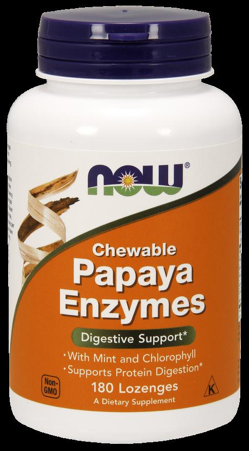 Now Foods Papaya Enzyme  180 tbl.