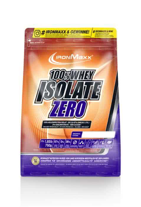 IronMaxx 100% Whey Isolate Zero 0,75 kg