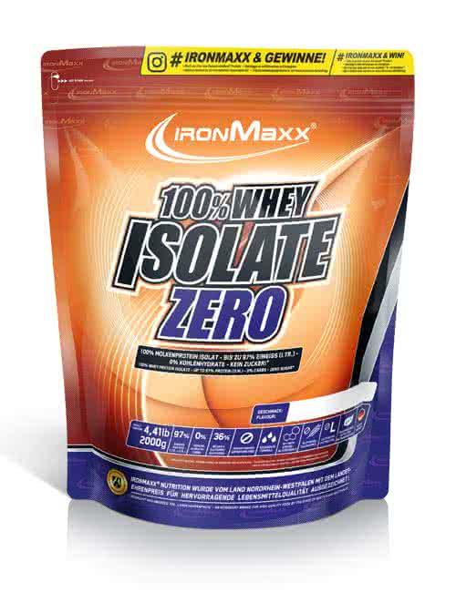 IronMaxx 100% Whey Isolate Zero 2 kg