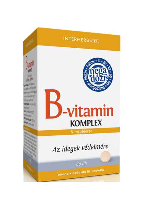 Interherb Vitamin B-Complex 60 tbl.