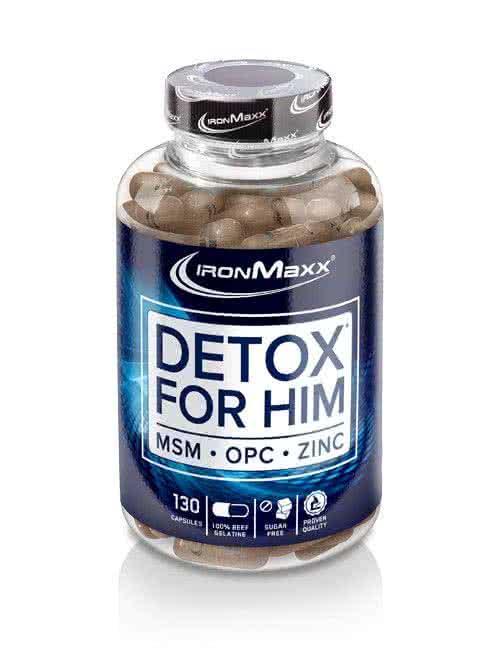 IronMaxx Detox for Him 130 kaps