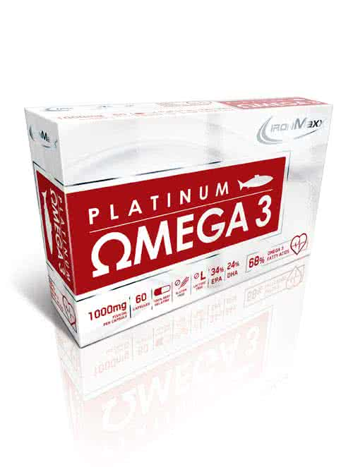 IronMaxx Platinum Omega 3 60 kaps