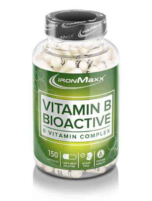 IronMaxx Vitamin B Bioactive 150 kaps