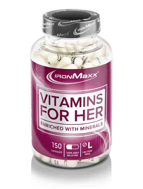 IronMaxx Vitamins for Her 150 kaps