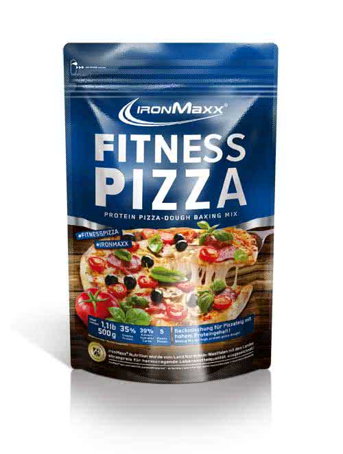 IronMaxx Fitness Pizza 500 g