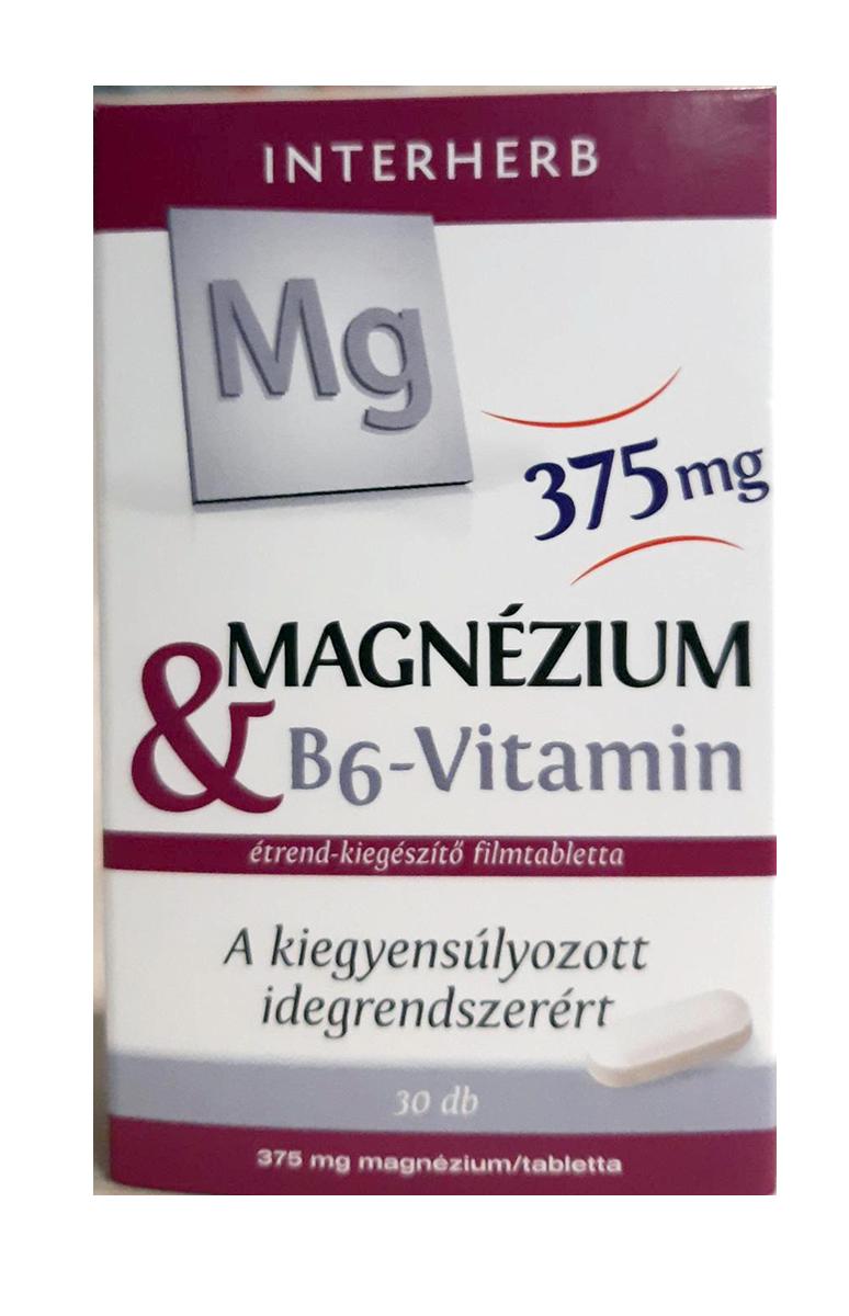 Interherb Magnesium + Vitamin B6 30 tbl.