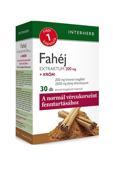 Interherb Cinnamon extract 30 kaps