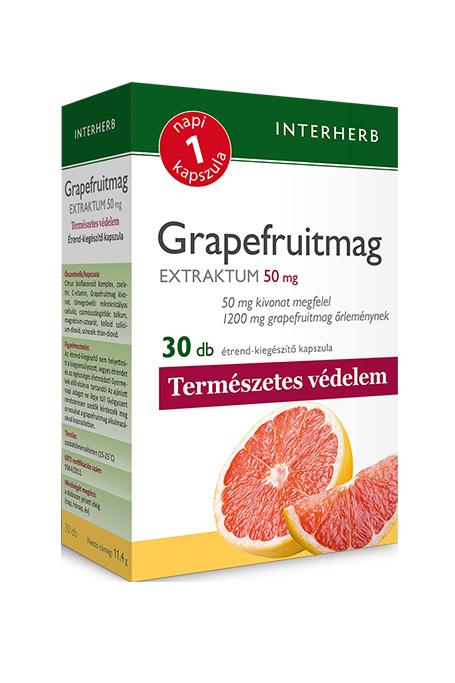 Interherb Grapefruit seed extract 30 kaps