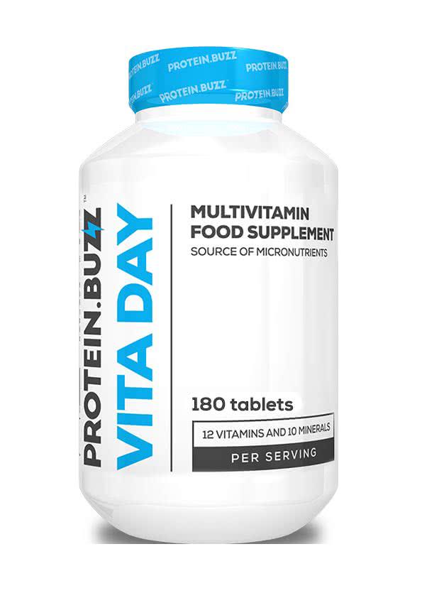Protein Buzz Vita Day 180 tbl.
