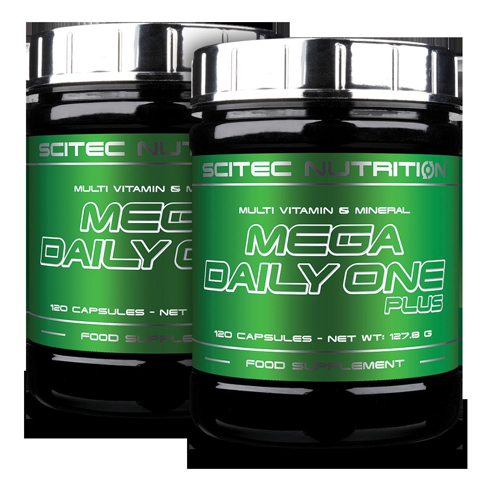 Scitec Nutrition Mega Daily One Plus 1+1 240 kaps