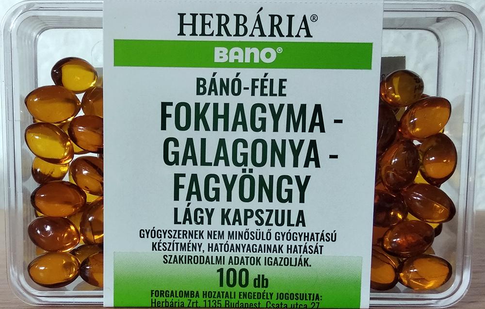 Bano Garlic, hawthorn, mistletoe 100 g.k.