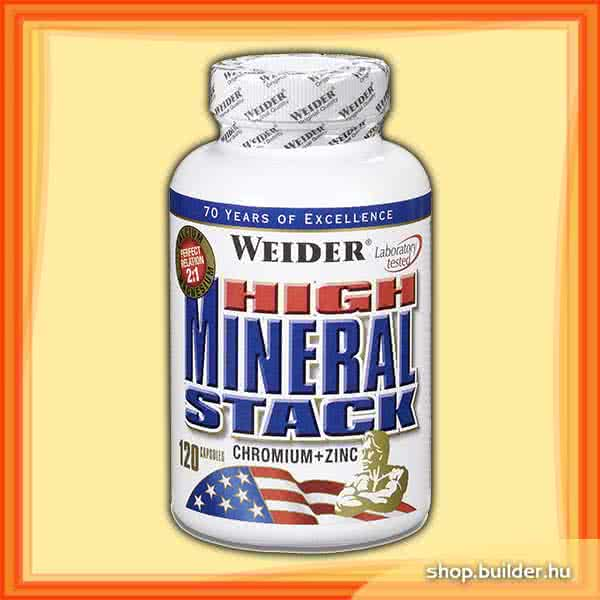 Weider Nutrition High Mineral Stack 120 kaps