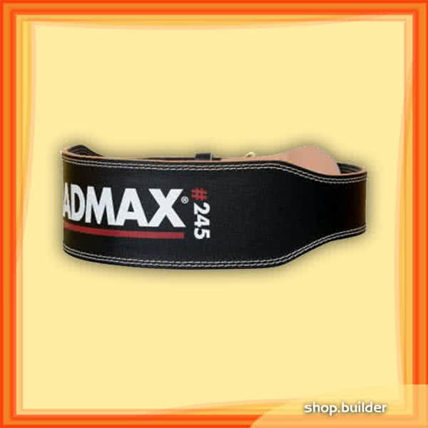 Mad Max Full Leather Weight Lifting Belt