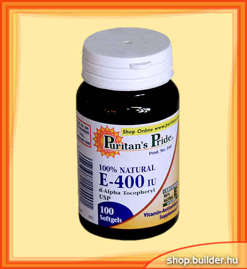 Puritan`s Pride Vitamin E-400 100 g.k.