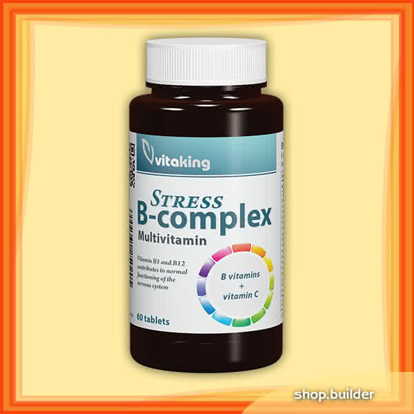 VitaKing Stress B-Complex 60 tbl.