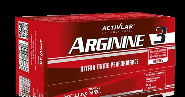 ActivLab Arginine 3 120 kaps