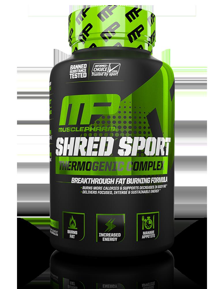 MusclePharm Shred Sport 60 kaps