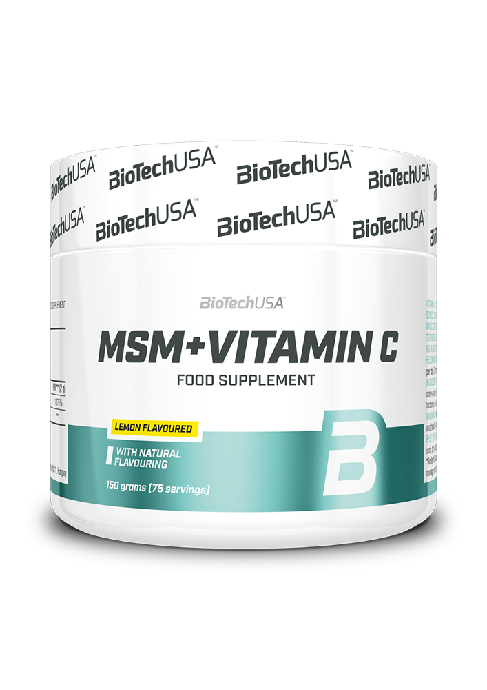 BioTech USA MSM Plus vitamin C 150 g